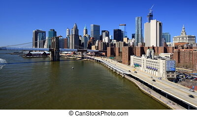 New York City - Lower Manhattan skyline