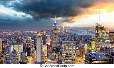 New York City - Time lapse, USA
