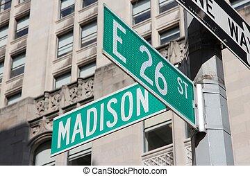 Madison Avenue - New York City, United States - famous...