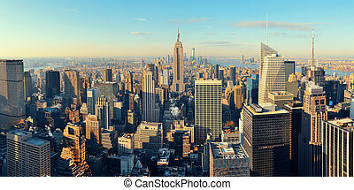 new york city, wolkenkratzer