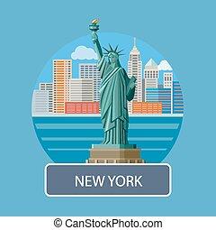 Statue of Liberty, New York City