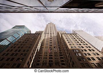 new york, cityscape