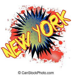 New York Comic Exclamation