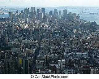 new york, déli