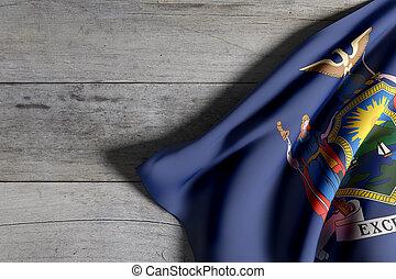new york etat, drapeau