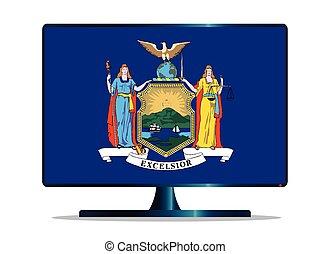 New York Flag TV