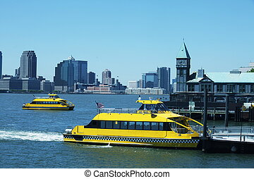 New York harbor - New York