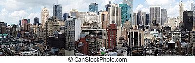 new york, körképszerű