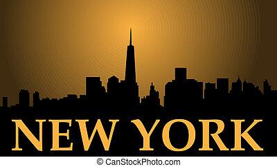 new york, liberté