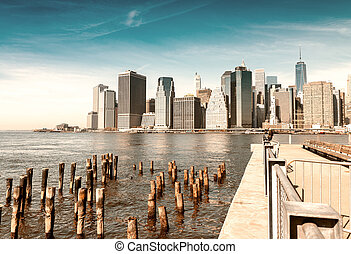 new york, luftblick