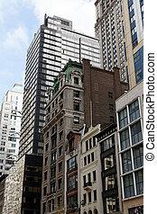 New York Manhattan Street View - The vastly architecture...