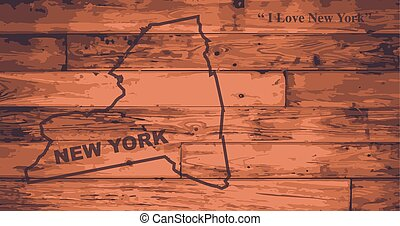 New York Map Brand