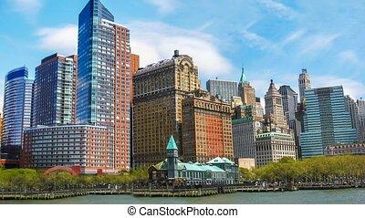 New York modern skyline