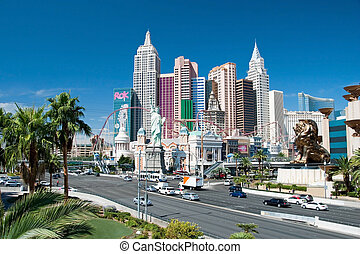 New York-New York on the Las Vegas Strip in Nevada - LAS...