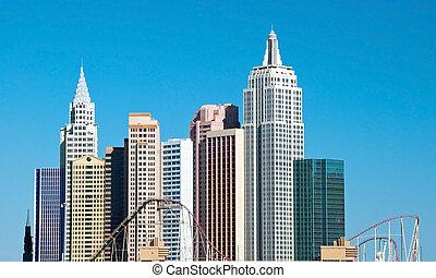 New York-New York on the Las Vegas Strip in Nevada