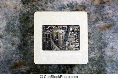 New York on slide film