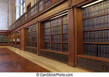 new york, publiek, usa, bibliotheek