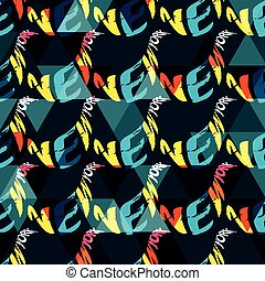 New york seamless pattern for your design