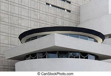 NEW YORK - SEPTEMBER 01: The Solomon R. Guggenheim Museum of mod