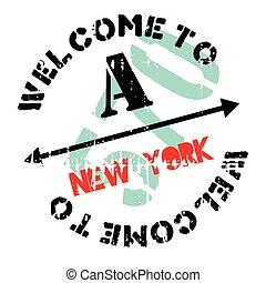 New York stamp