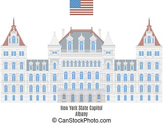New York State Capitol, Albany - New York State Capitol in...