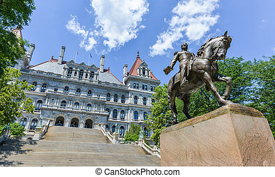 New York State Capitol Building, Albany - The New York State...