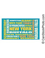 New York state cities list