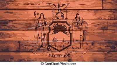 New York State Flag Brand