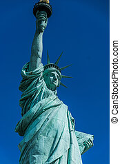 new york, statue liberté