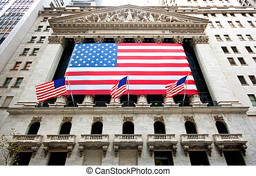New York Stock Exchange Building in December
