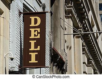 New York style Deli Sign