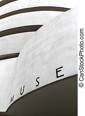 new york, -, szeptember, 01:, a, solomon r. guggenheim museum