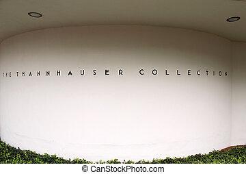 new york, -, szeptember, 01:, a, solomon r. guggenheim museum, közül, hadügyminisztérium