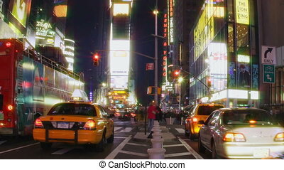 New York Times Square - Timelapse New York Times Square at...