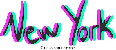 New York visual art symbol