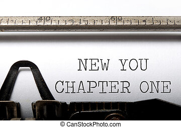 New you, chapter one