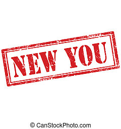 New You-stamp