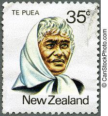 NEW ZEALAND - 1980: shows Princess Te Puea Herangi...