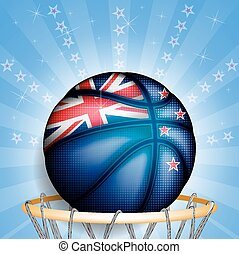 New Zealand basket ball