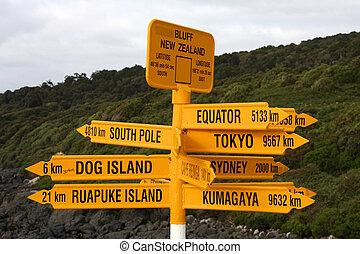 New Zealand - Bluff - Destinations in New Zealand - variety...