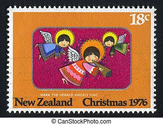 Hark the Herald Angels Sing - NEW ZEALAND - CIRCA 1976: ...