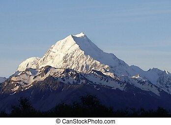 mountain - new zealand mountains
