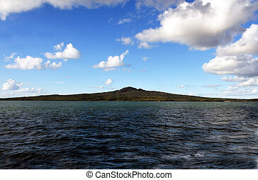 New Zealand Rangitoto Island