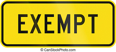 New Zealand road sign - Heavy vehicles are exempt from the legal requirement to come to a complete stop before crossing the tracks
