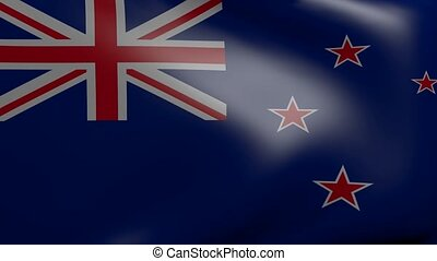 new zealand strong wind flag