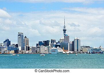 New Zealand -Travel Photos - Auckland city skyline as seen ...