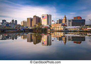 Newark, New Jersey Skyline - Newark, New Jersey, USA skyline...