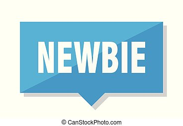 newbie price tag - newbie blue square price tag