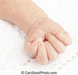 newborn βρέφος , χέρι