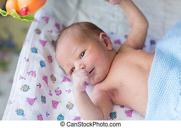 Newborn baby, 3 days old